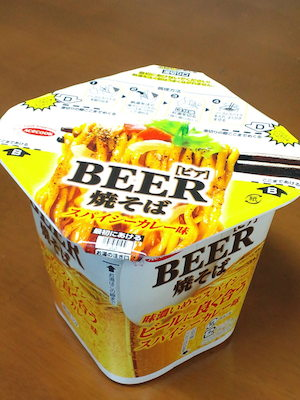 BEER焼きそば1